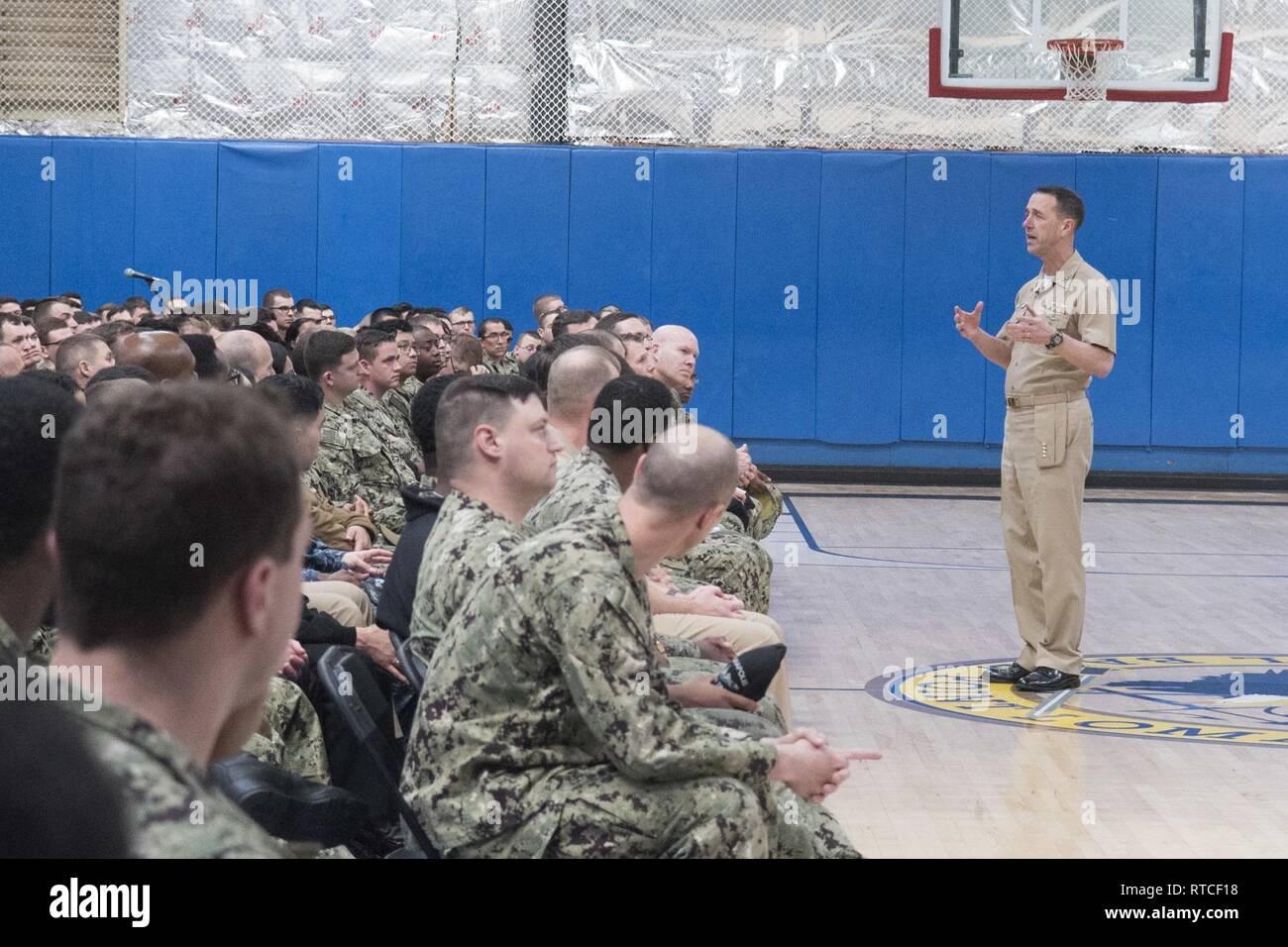 SAN DIEGO (Feb  15, 2019) Chief of Naval Operations (CNO
