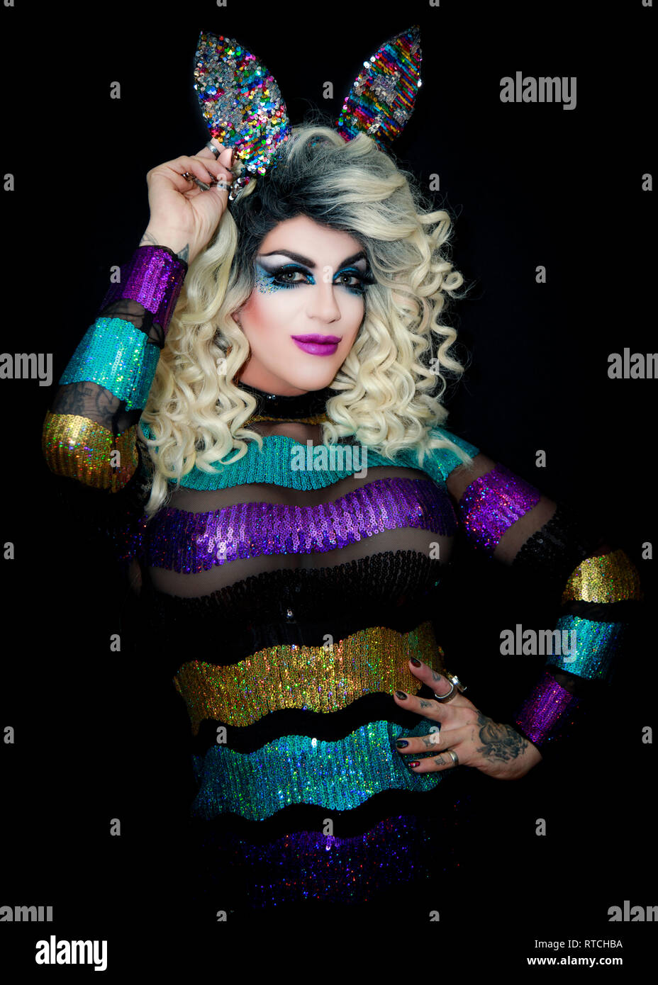 Shyanne O'Shea, Southend, Essex © Clarissa Debenham / Alamy - Stock Image