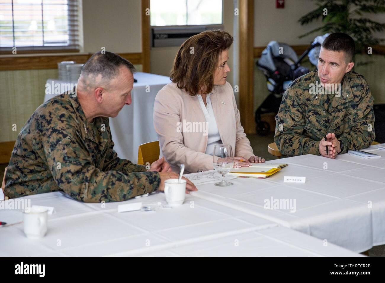 Lt Gen Charles G Chiarotti Left Deputy Commandant For