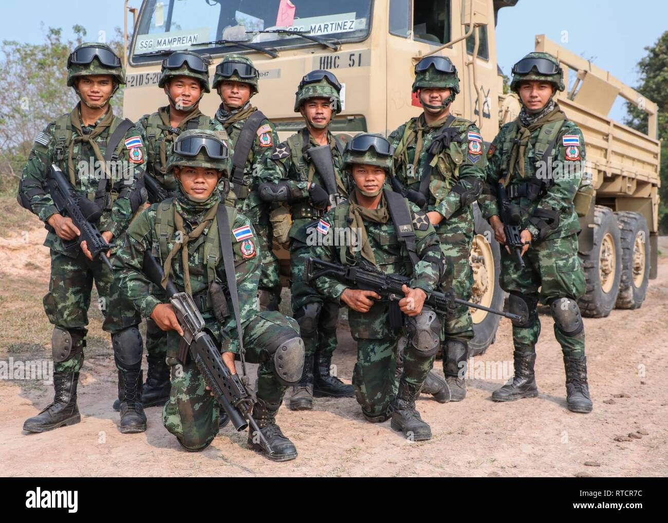 Soldiers from C Infantry Company, 2nd Battalion, 4th