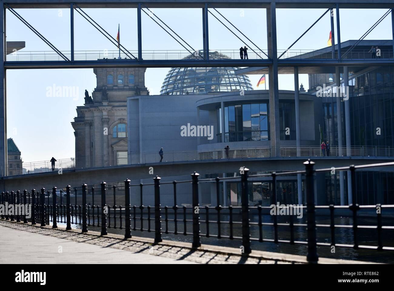 Berlin, Germany  28th Feb, 2019  Reichstag Berlin, Germany