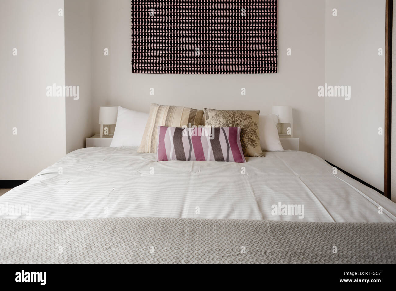 Wall Covering Bedroom High Resolution Stock Photography And Images Alamy