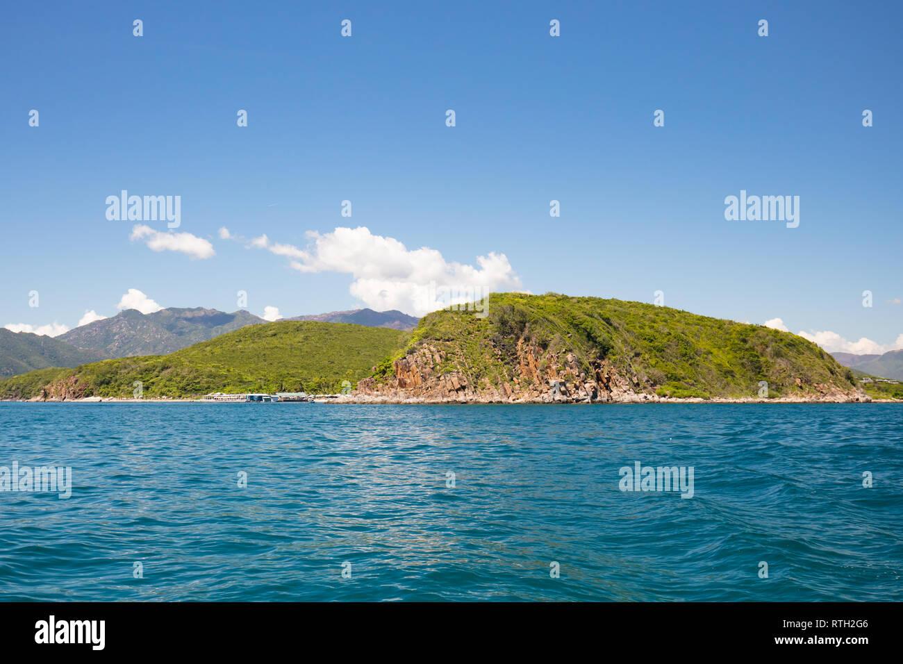 Nha Trang Island Landscape - Stock Image