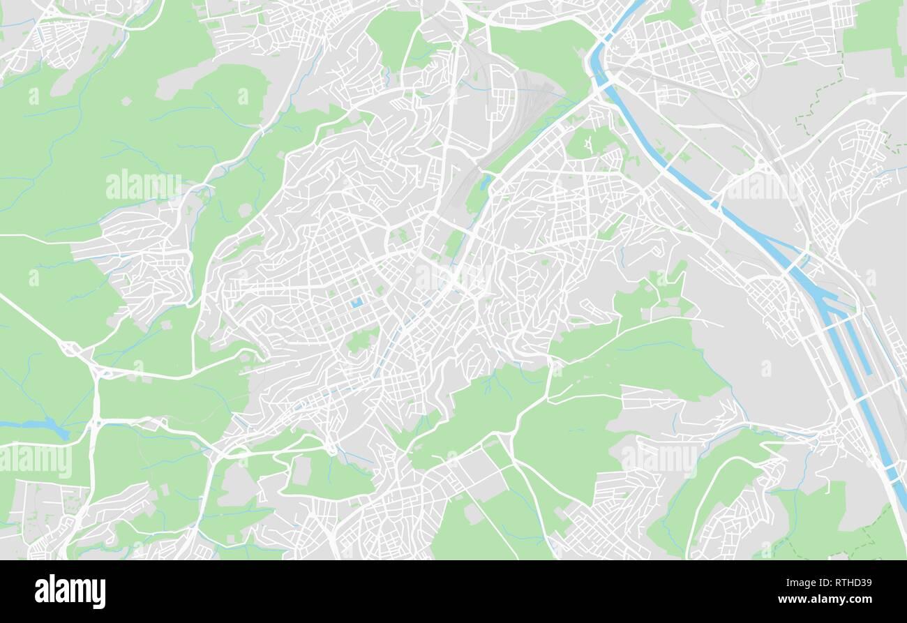 Stuttgart Map Of Germany.Stuttgart Map Stock Photos Stuttgart Map Stock Images Alamy