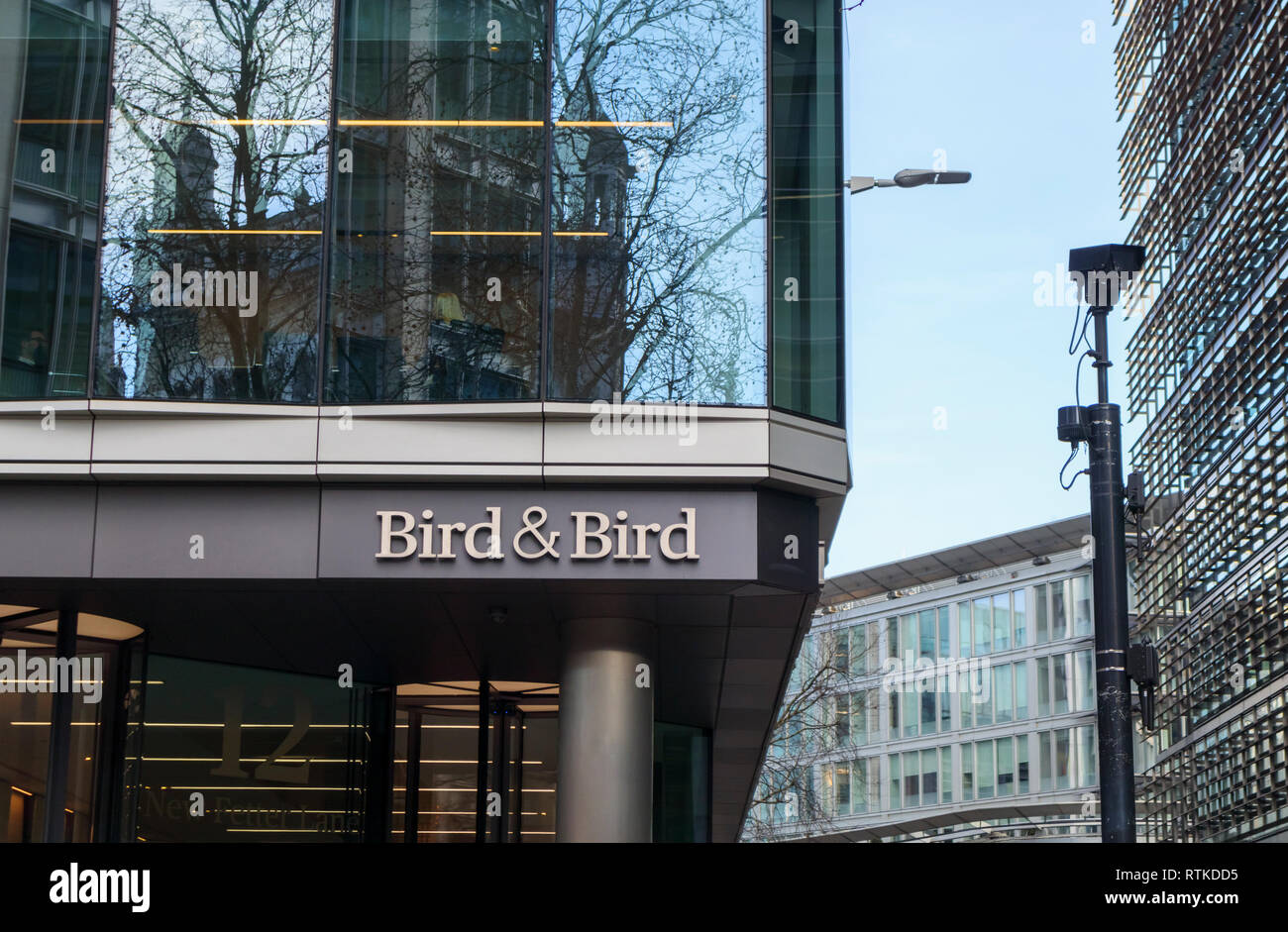 Name Plate Of International Law Firm Bird Amp Bird At Their