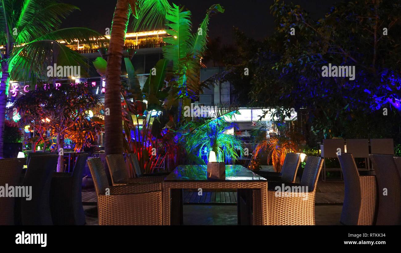 ночь ночной клуб кафе