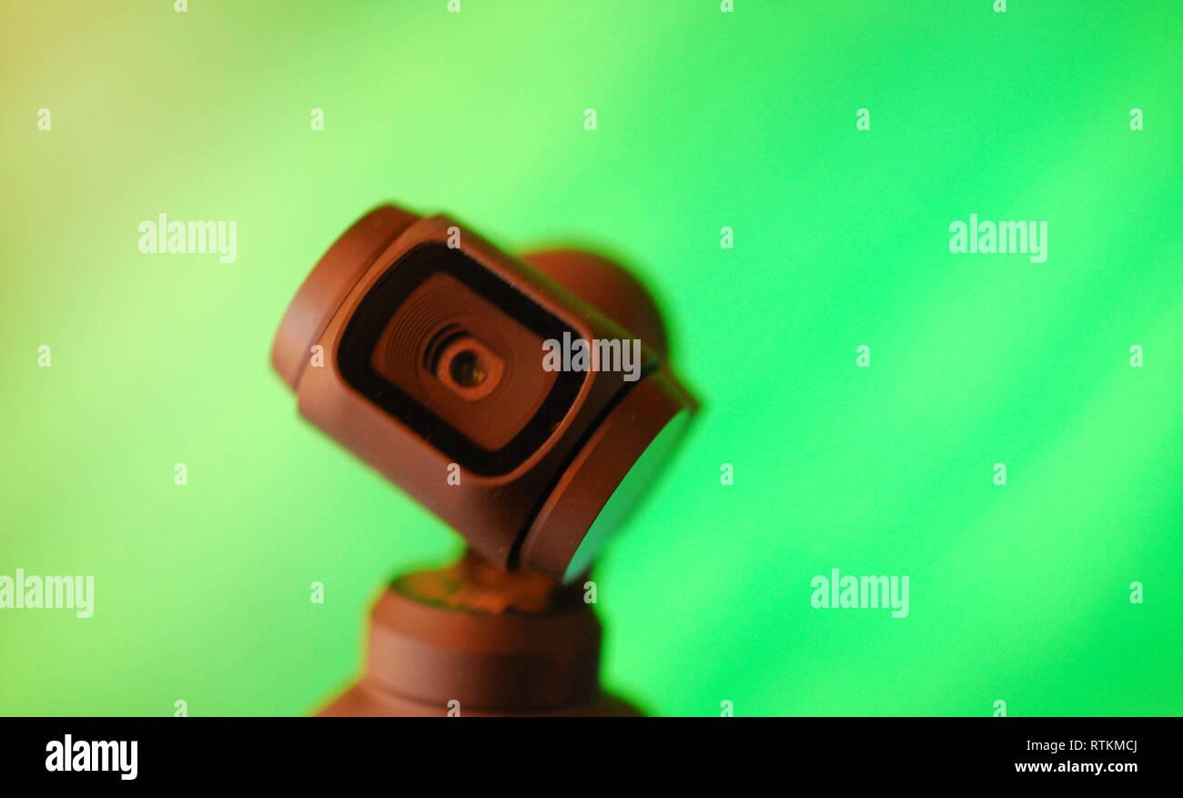 New  DJI Osmo Pocket video camera Stock Photo