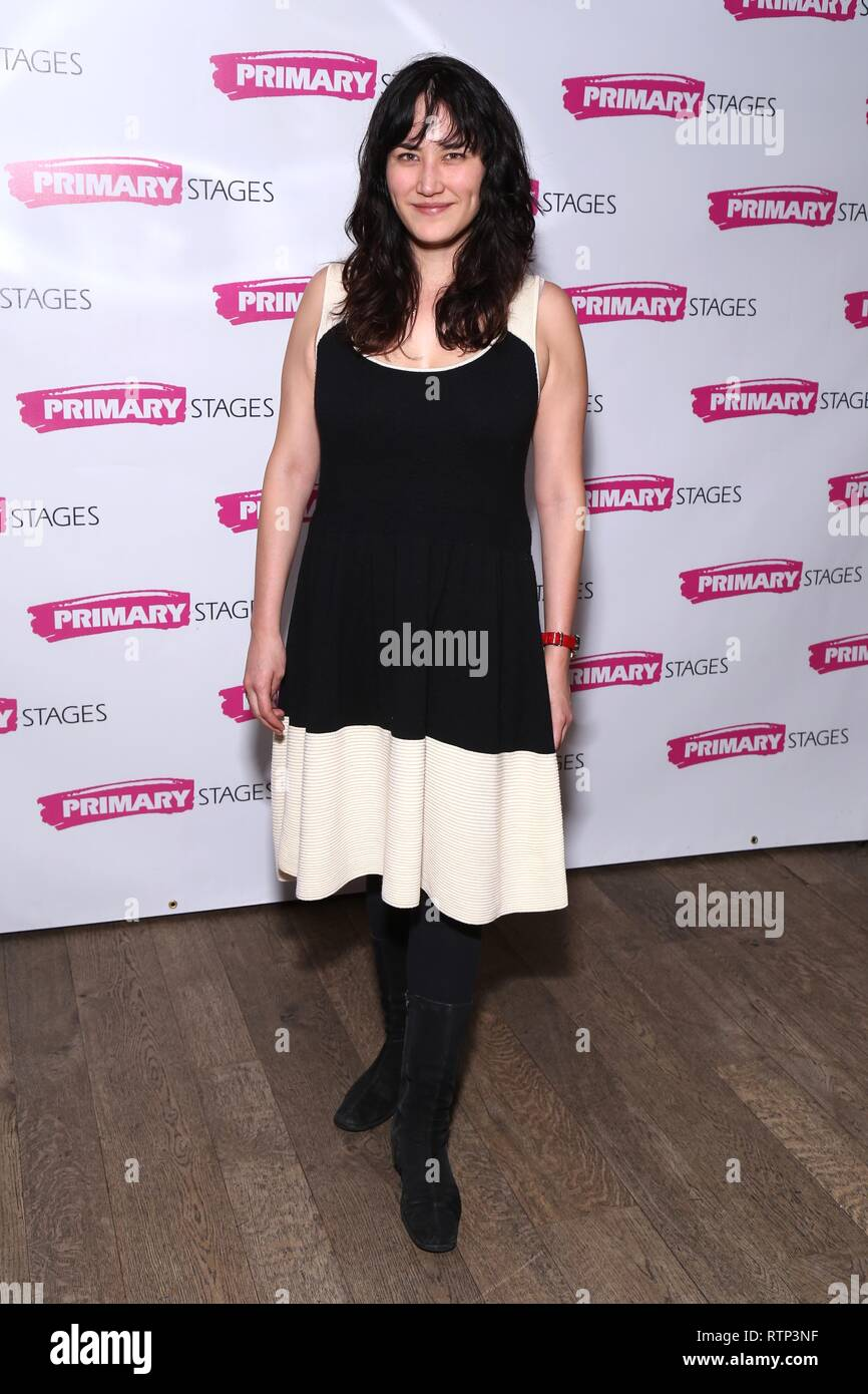 Opening night party for God said This held at Amity Hall - Arrivals.  Featuring: Susan Soon He Stanton Where: New York, New York, United States When: 29 Jan 2019 Credit: Joseph Marzullo/WENN.com Stock Photo