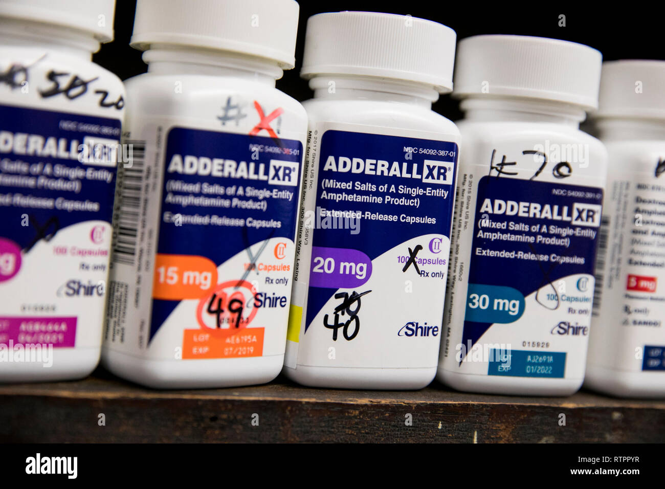 Adderall Not Diary Stock Photos & Adderall Not Diary Stock