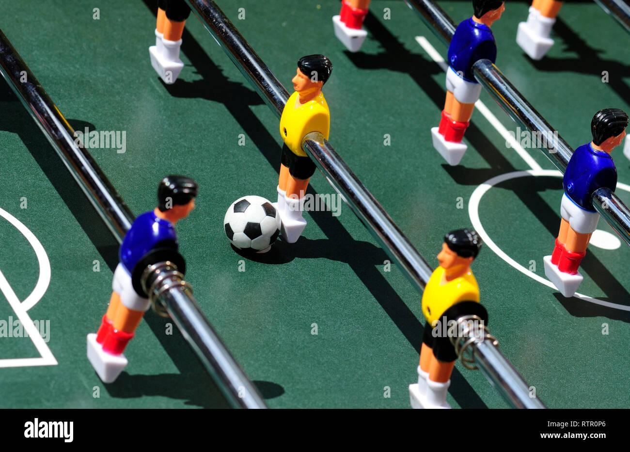 Table Football - Stock Image