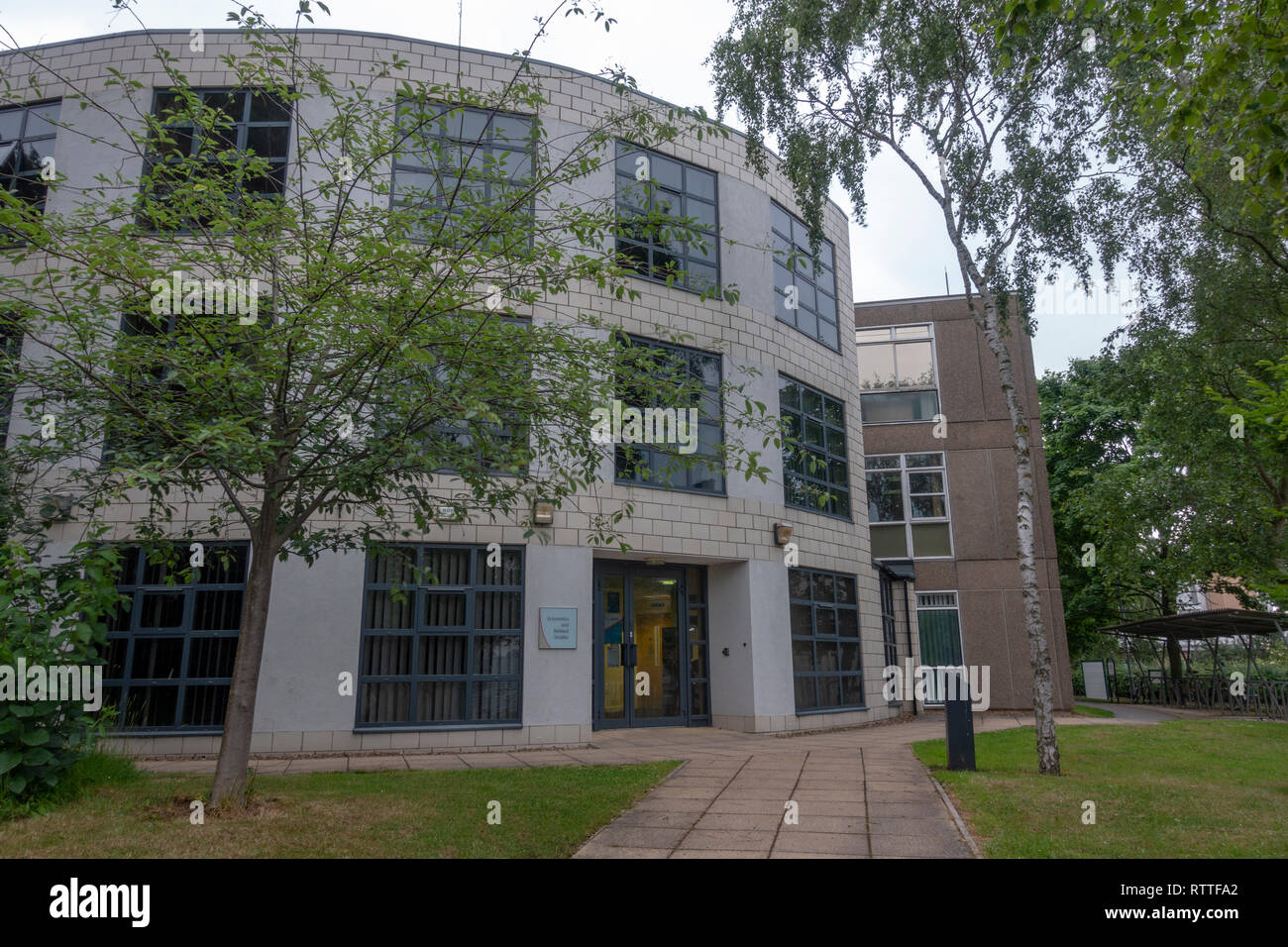 Economics and Related Studies, University of York campus, Heslington, York, Yorkshire, UK. - Stock Image