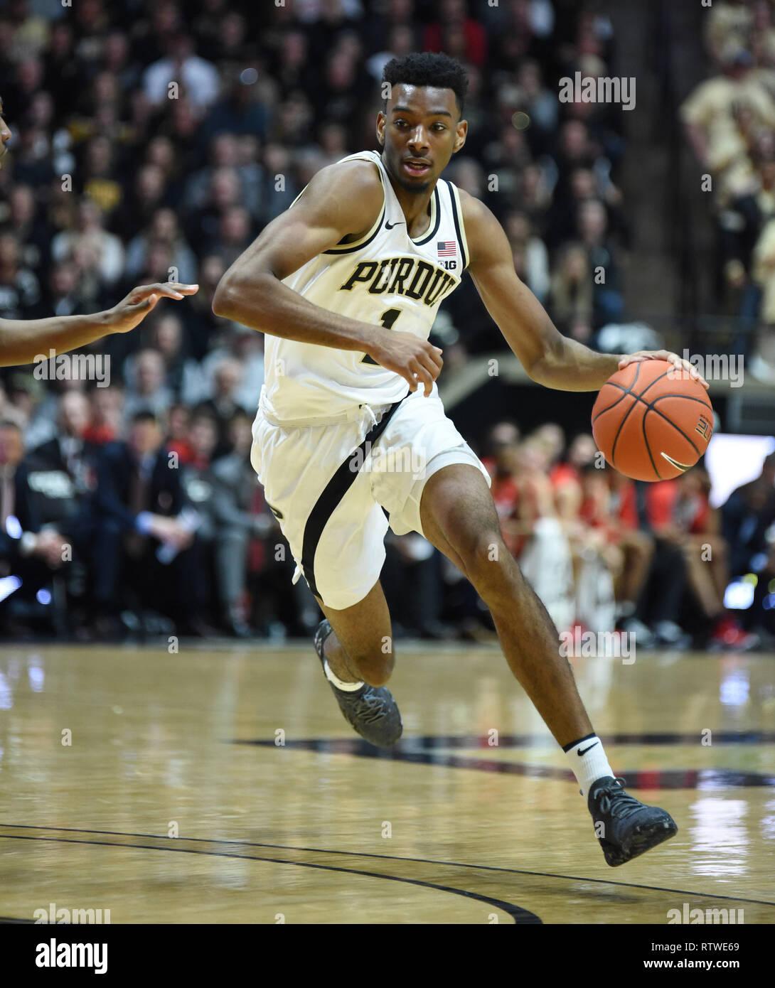 Aaron Wheeler Purdue Boilermakers Basketball Jersey