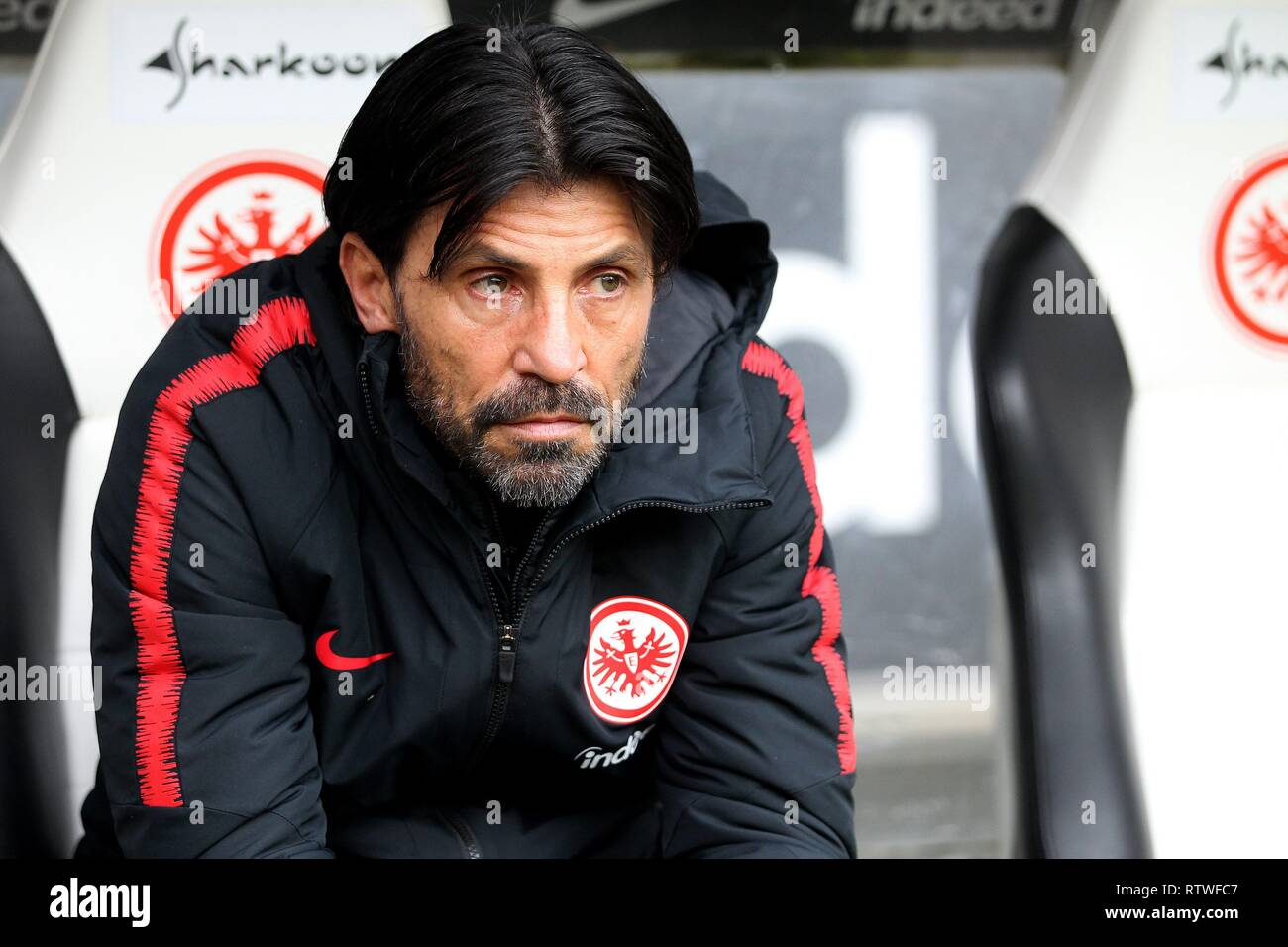 Frankfurt, Deutschland. 02nd Mar, 2019. firo: 02.03.2019, football, 1.Bundesliga, season 2018/2019, Eintracht Frankfurt - TSG 1899 Hoffenheim, portrait, facial expressions, half figure, | usage worldwide Credit: dpa/Alamy Live News Stock Photo