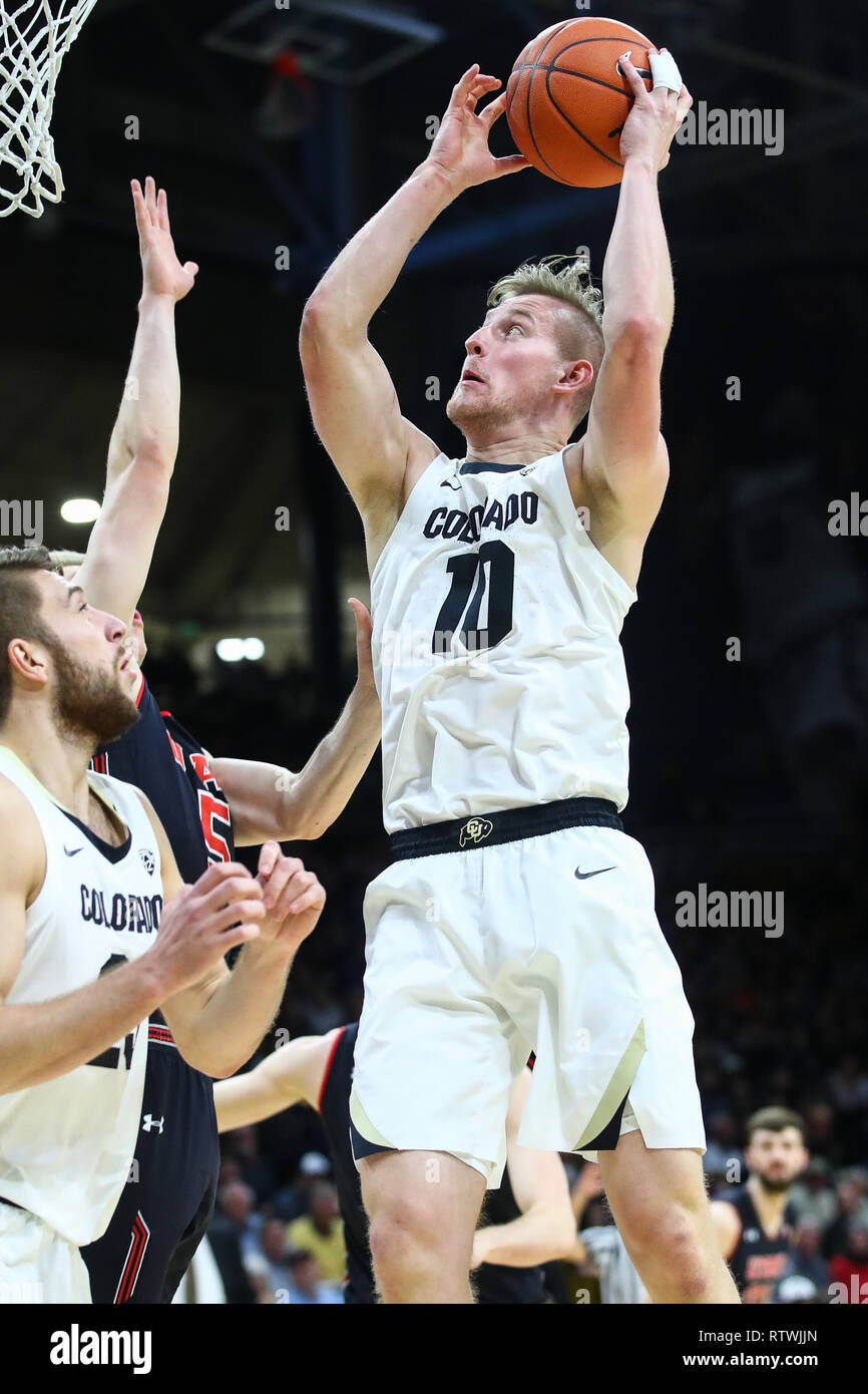 Alexander Strating Colorado Buffaloes Basketball Jersey - Black