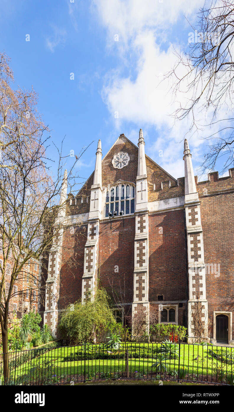 Inns of Court: Elizabethan Middle Temple Hall, Middle Temple Lane, London EC4 - Stock Image