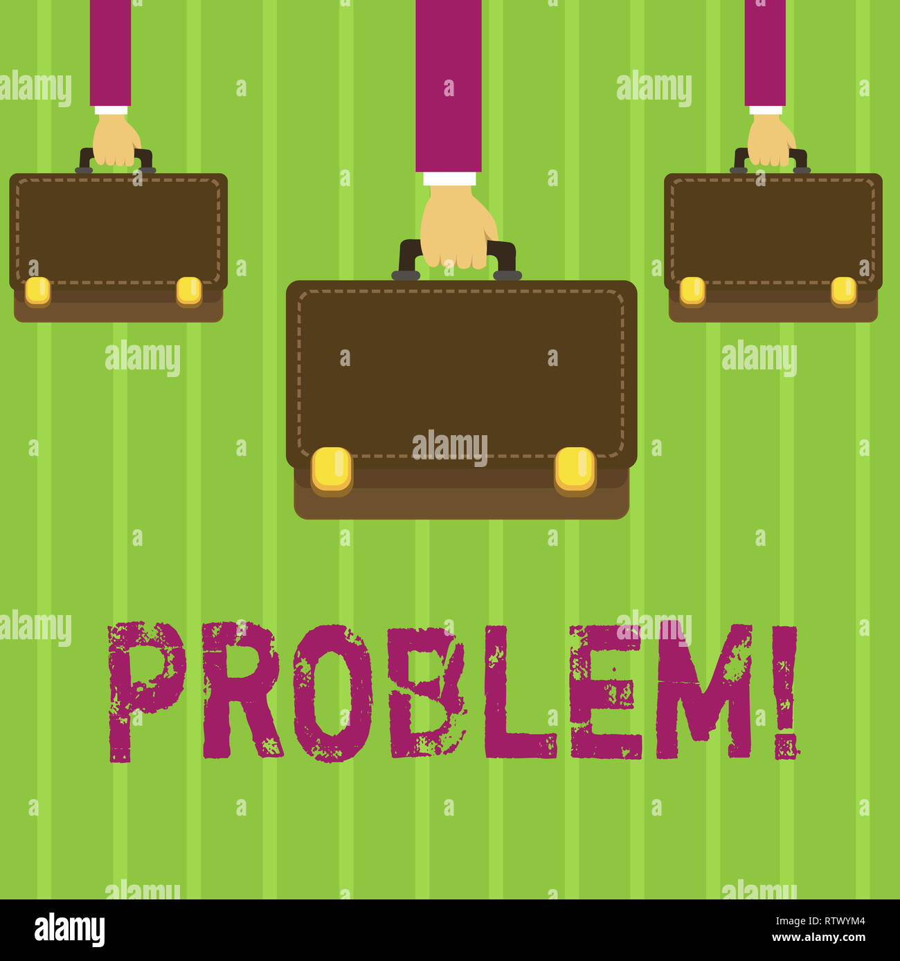 Word writing text Problem. Business concept for Trouble that need to be solved Difficult Situation Complication - Stock Image