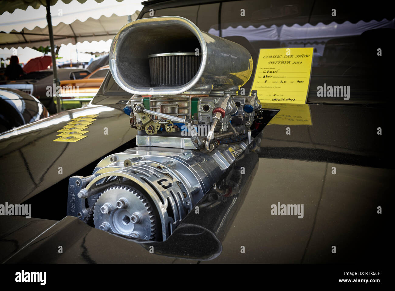 Supercharged Engine Stock Photos & Supercharged Engine Stock Images