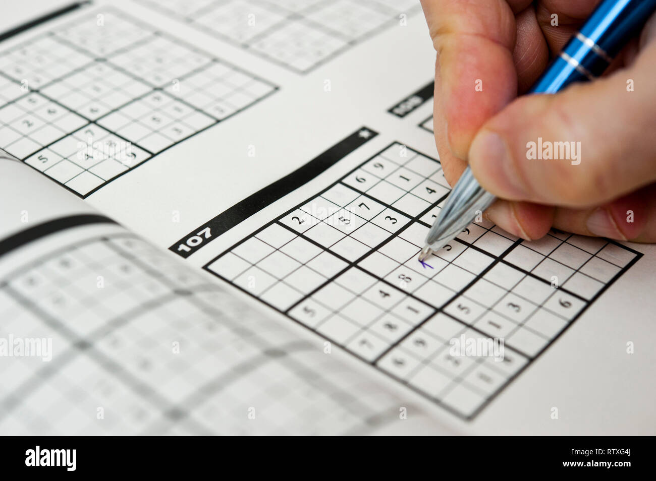 Sudoku Stock Photos & Sudoku Stock Images - Alamy