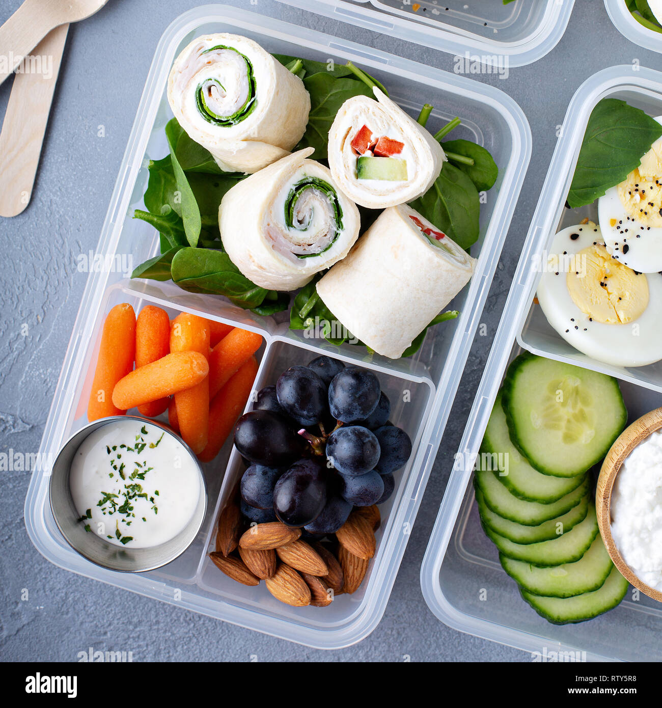 Excellent Healthy Lunch Or Snack To Go With Tortilla Wraps Eggs Download Free Architecture Designs Rallybritishbridgeorg