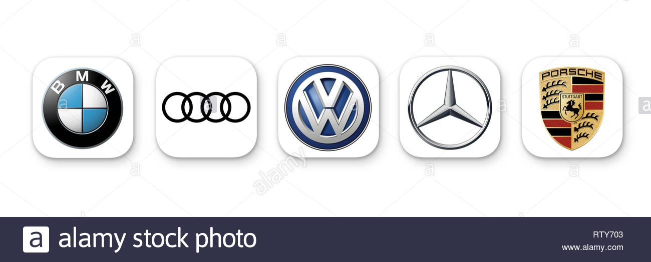Bmw Car Sign Logo Stock Photos Bmw Car Sign Logo Stock Images Alamy