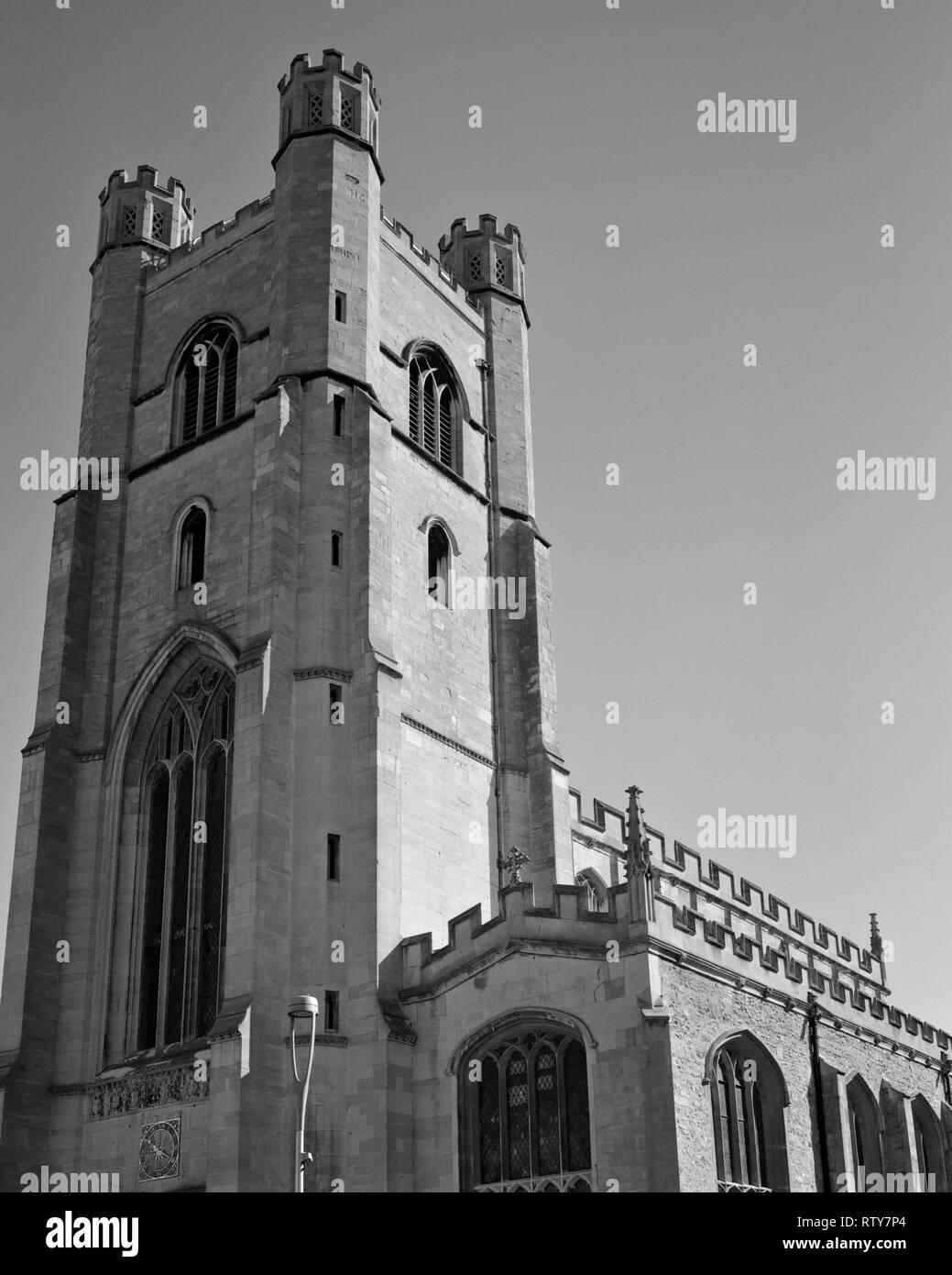 Great St Mary's Church King's Parade Cambridge England - Stock Image