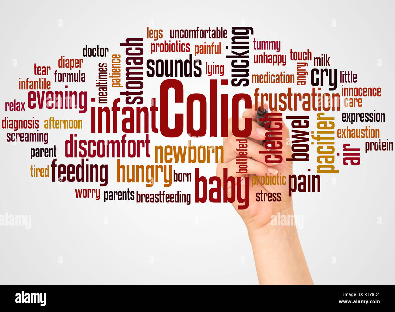 Colic Infant Stock Photos & Colic Infant Stock Images - Alamy