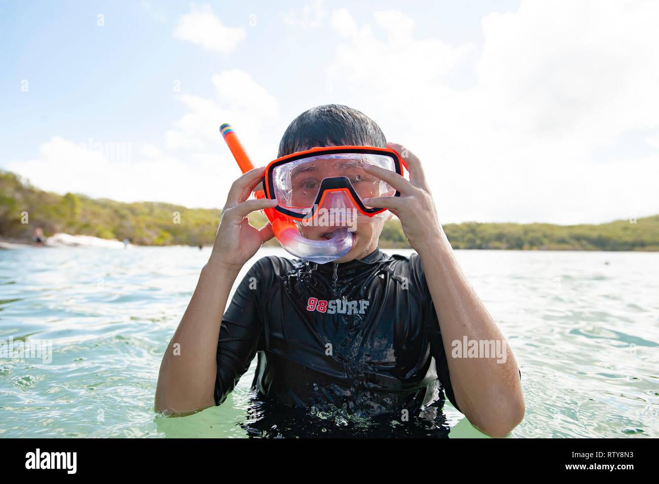 Fraser Island, Queensland, Australia - Stock Image