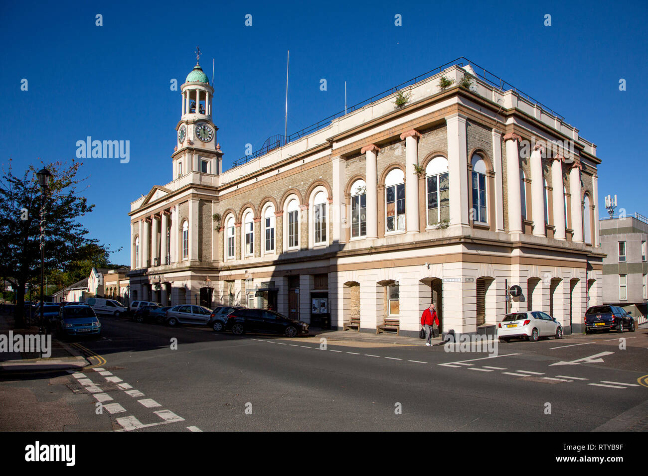 Town Hall, Ryde, Isle of Wight, England, UK, - Stock Image