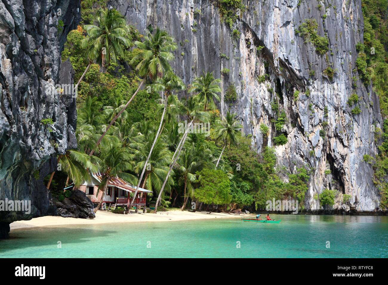 Philippines Nature El Nido Island Hopping Tour View Of