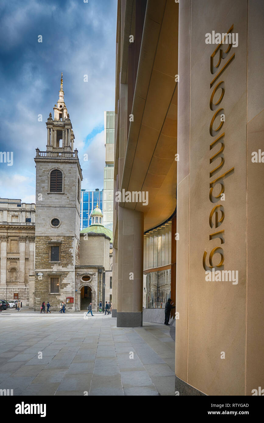 bloomberg london Stock Photo