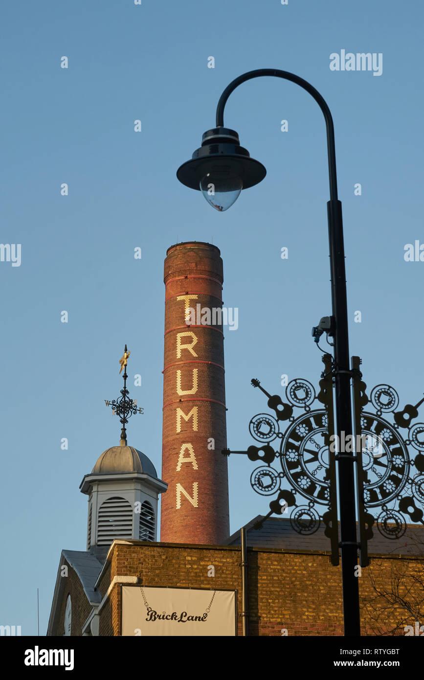 Truman Brewery Brick Lane London Stock Photo
