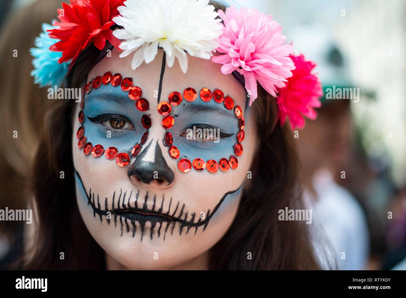 Curitiba, Brazil  03rd Mar, 2019  Participants dressed as
