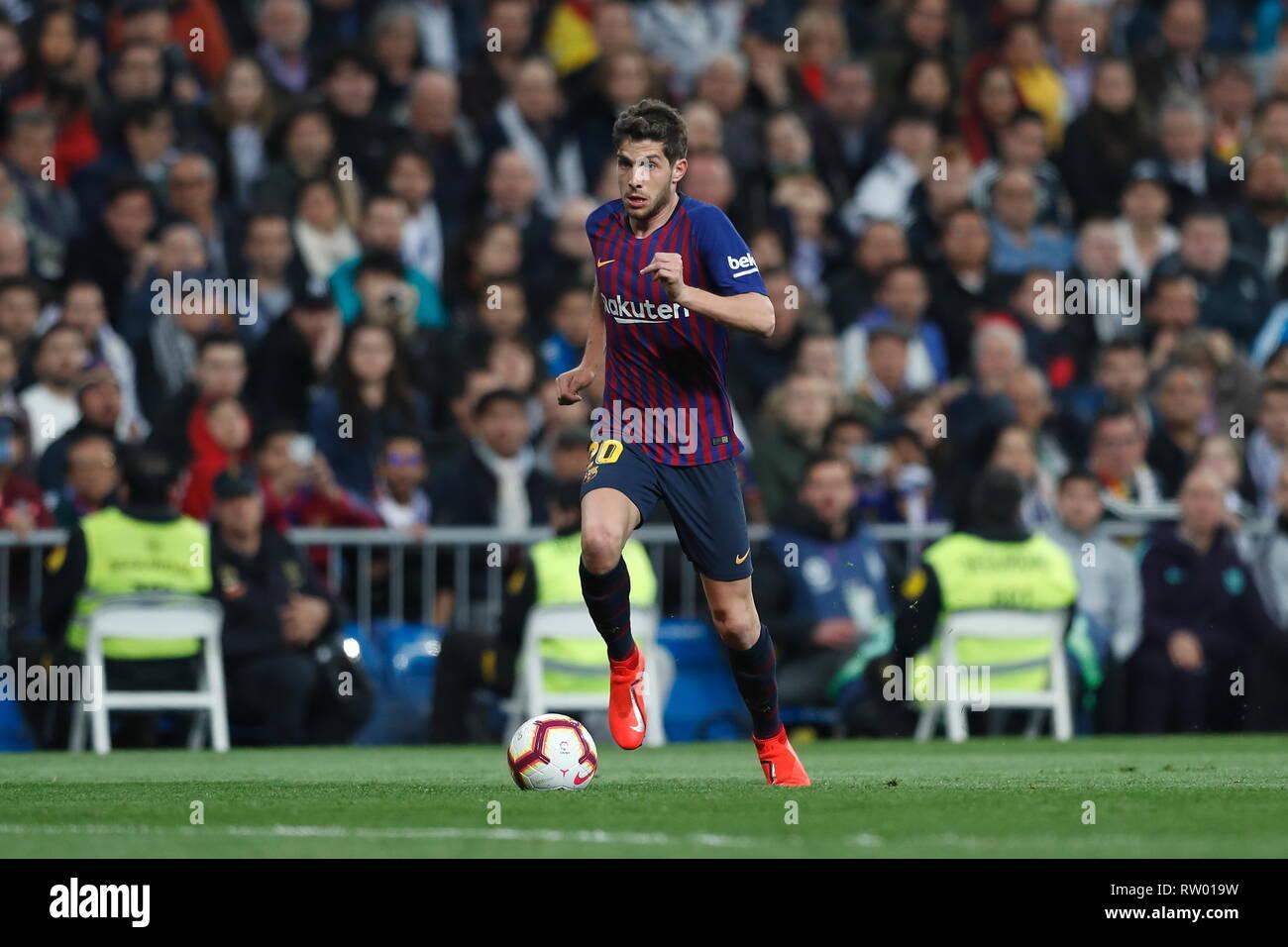 Sergi Roberto (Barcelona) Football Soccer   Spanish