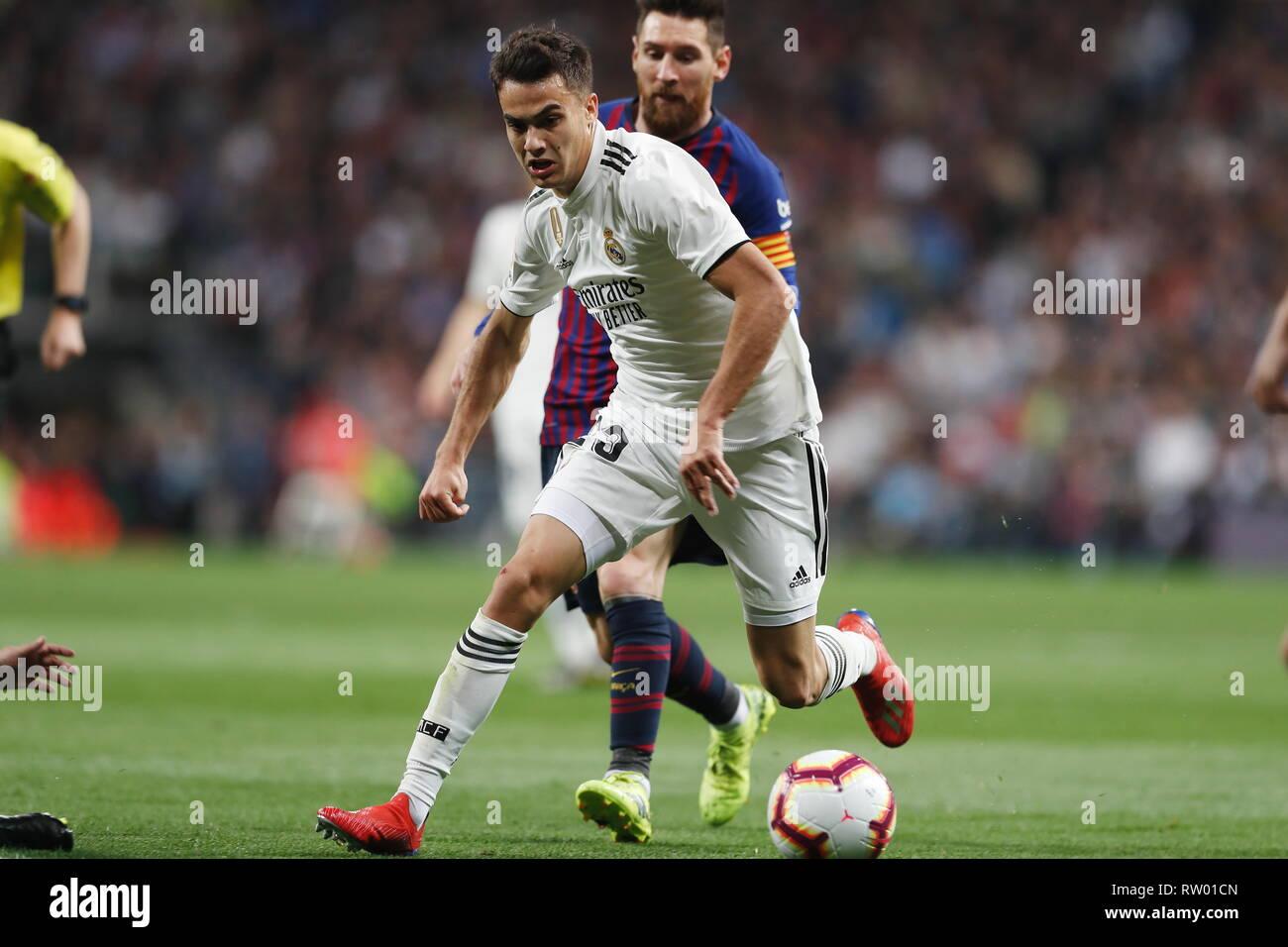 Sergio Reguilon (Real) Football Soccer   Spanish