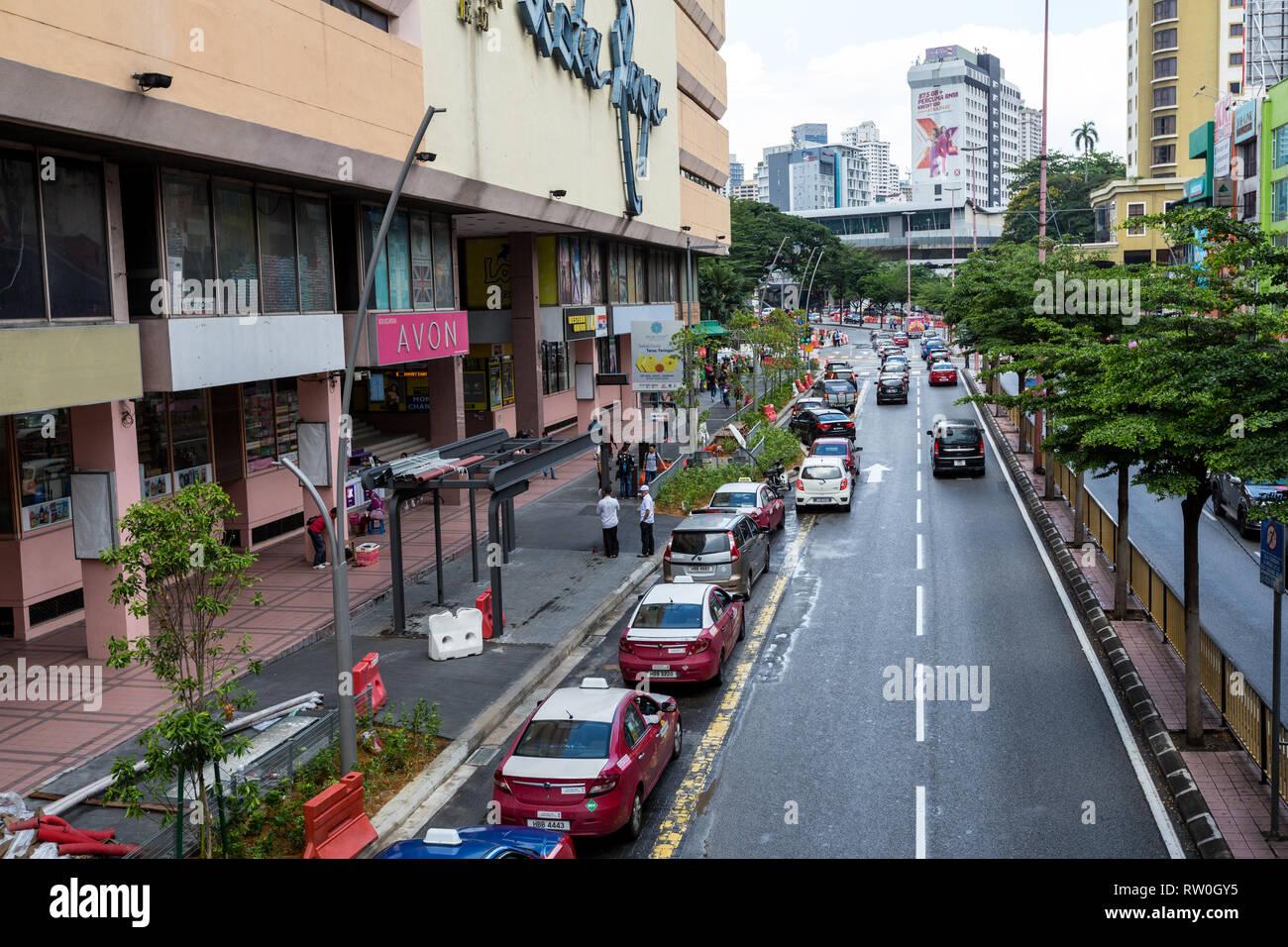 Jalan Tun Tan Cheng Lock Street Scene Kuala Lumpur Malaysia Stock Photo Alamy