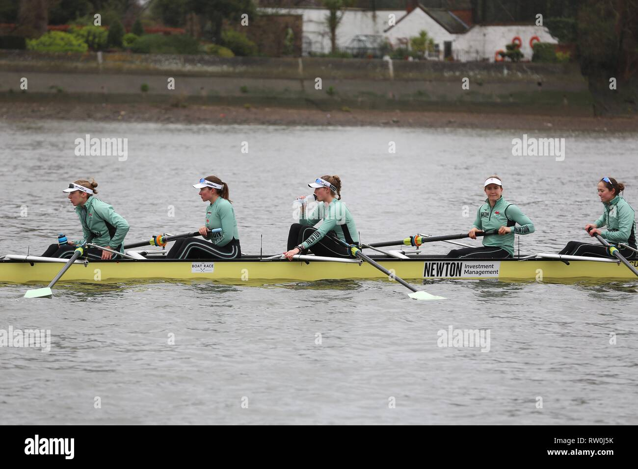 The Boat Race CUWBC vs Oxford Brookes  3 February 2019 - Stock Image