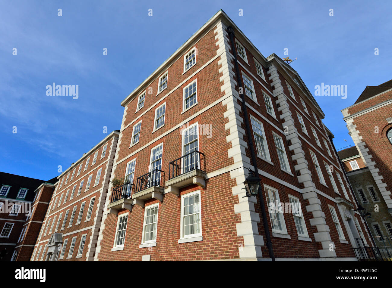 Crown Office Row, Temple legal district, City of London, United Kingdom - Stock Image