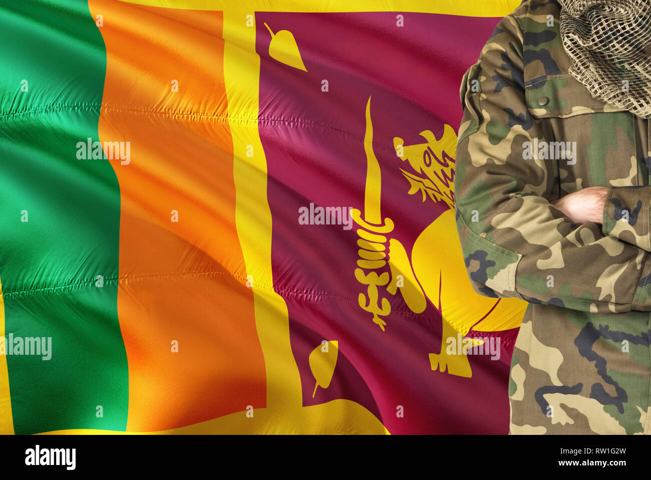 Sri Lanka Army Special Force High Resolution Stock Photography And Images Alamy