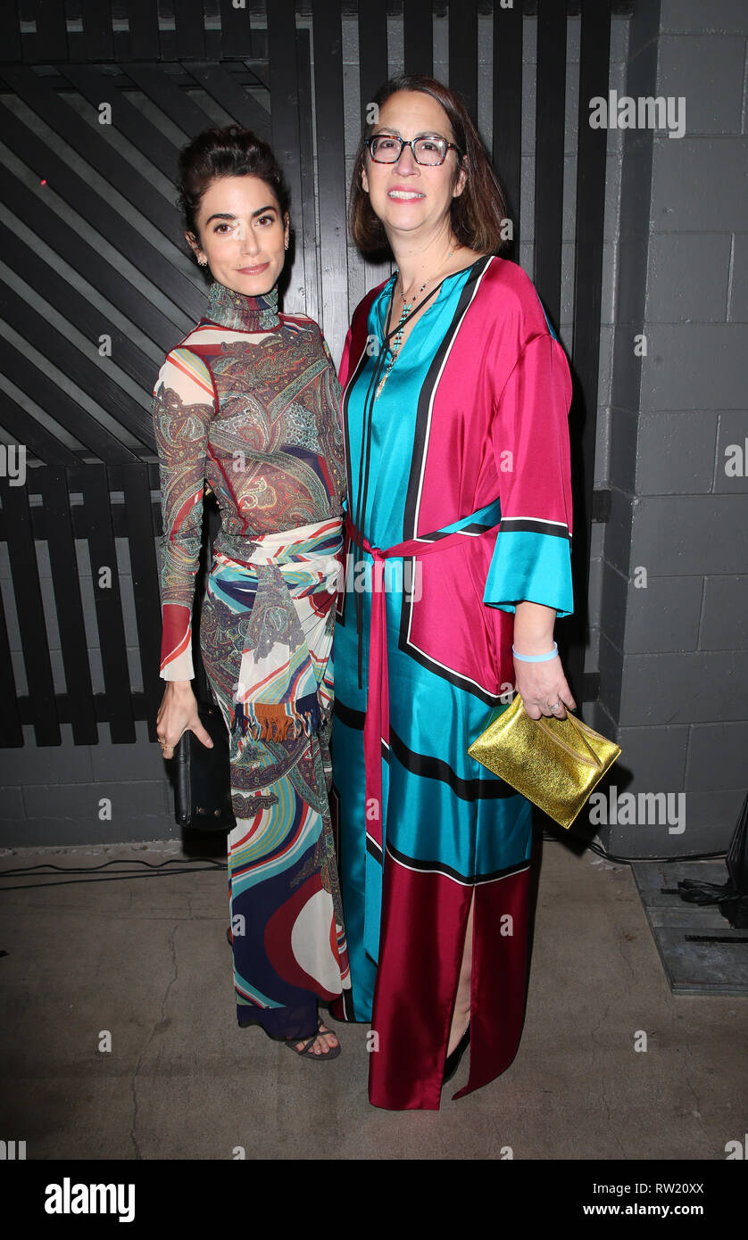 CULVER CITY, CA - MARCH 3: Nikki Reed, California State Assembly members Laura Friedman, at The Compassion Project's 2nd Annual Fundraising Gala_Inside at Playa Studio in Culver City, California on March 3, 2019. Credit: Faye Sadou/MediaPunch - Stock Image