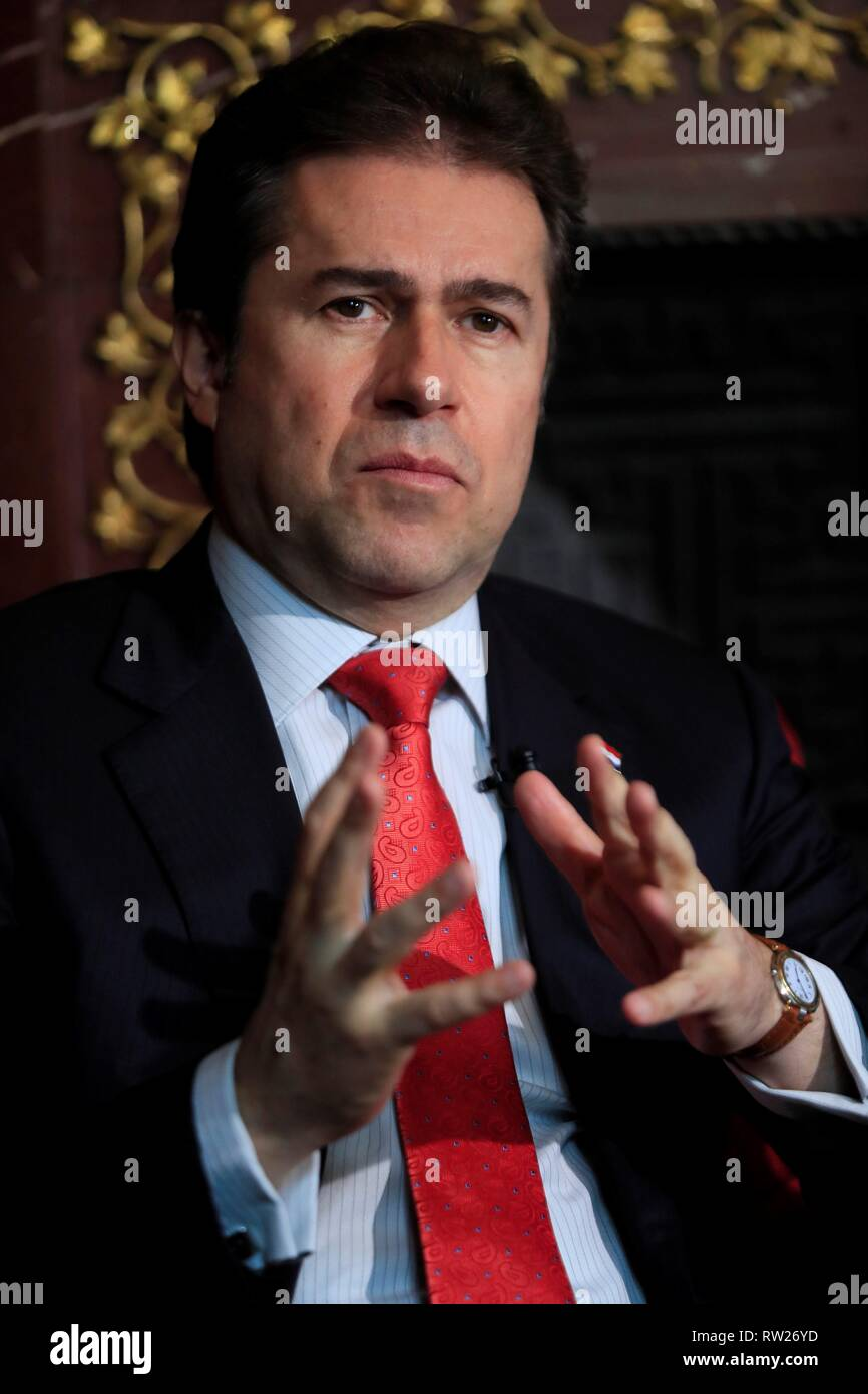 Madrid, Spain  04th Mar, 2019  Paraguayan Foreign Minister Luis