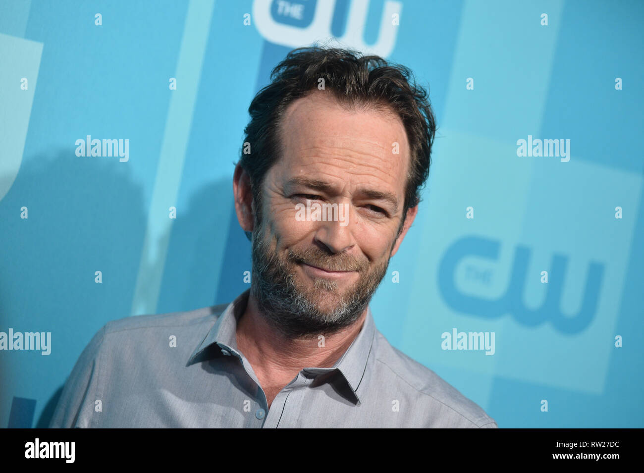 FILE PICTURE: Burbank, California, USA. 4th Mar 2019. Actor Luke Perry dies after suffering a massive stroke. Picture taken: Actor Luke Perry attends the 2017 CW Upfront on May 18, 2017 in New York City. Credit: Erik Pendzich/Alamy Live News Stock Photo