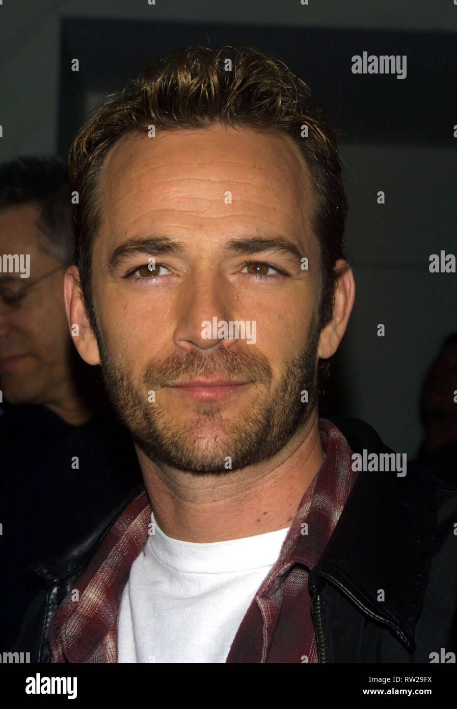 Actor LUKE PERRY (11 October 1966 - 4 March 2019) best known for his