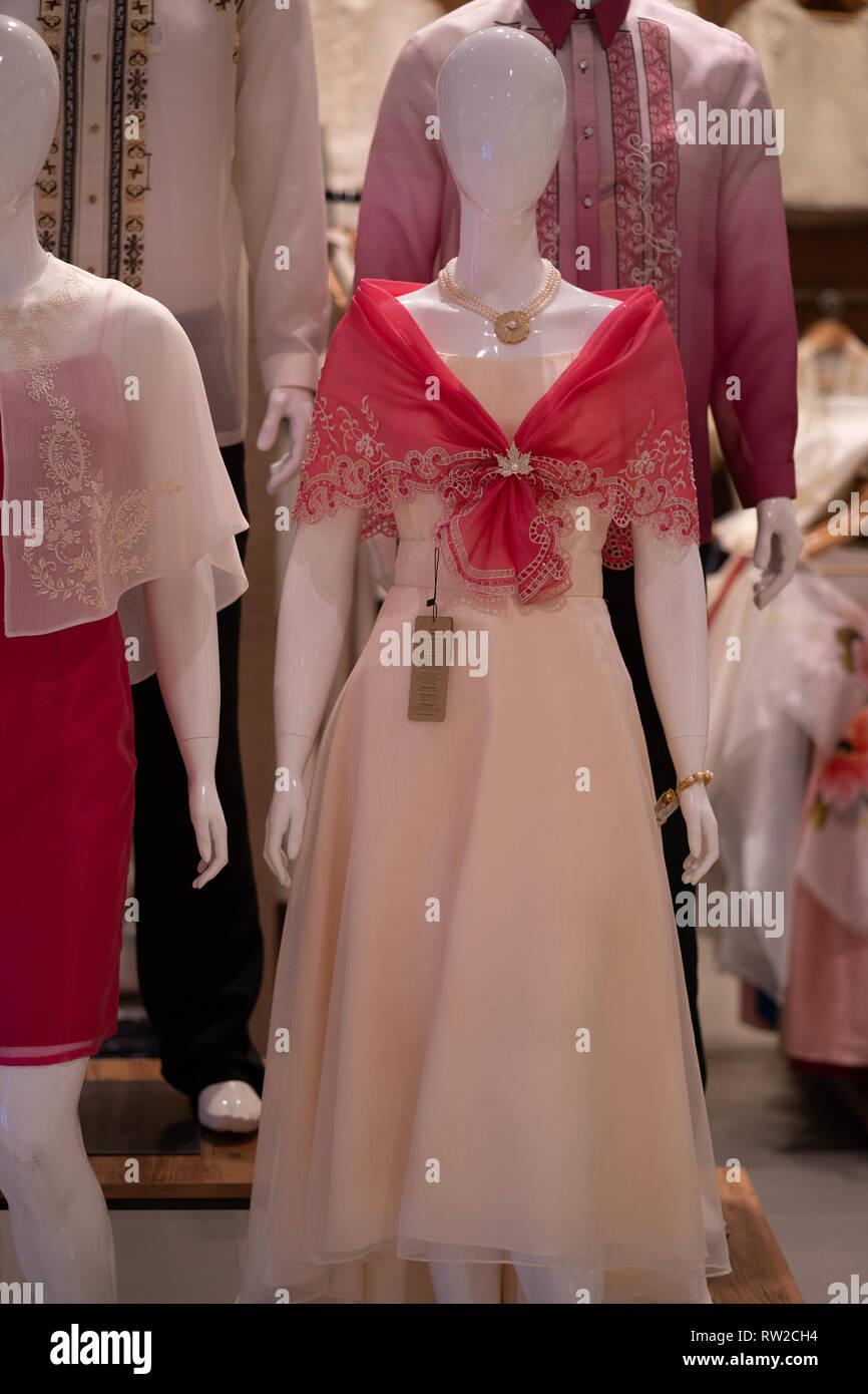 Traditional Filipino Dress Stock Photos Traditional Filipino Dress