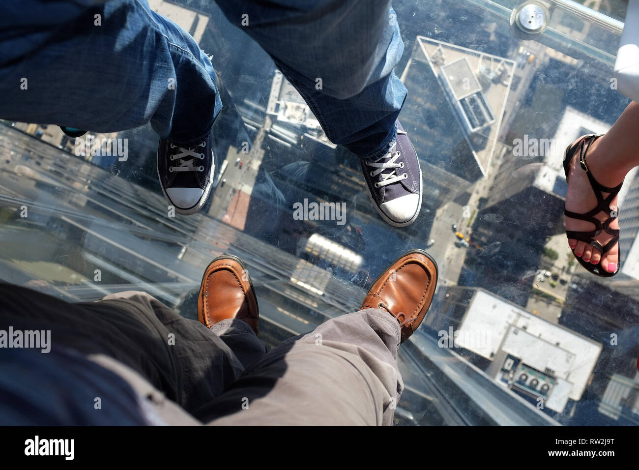 Sears Tower Chicago - Stock Image