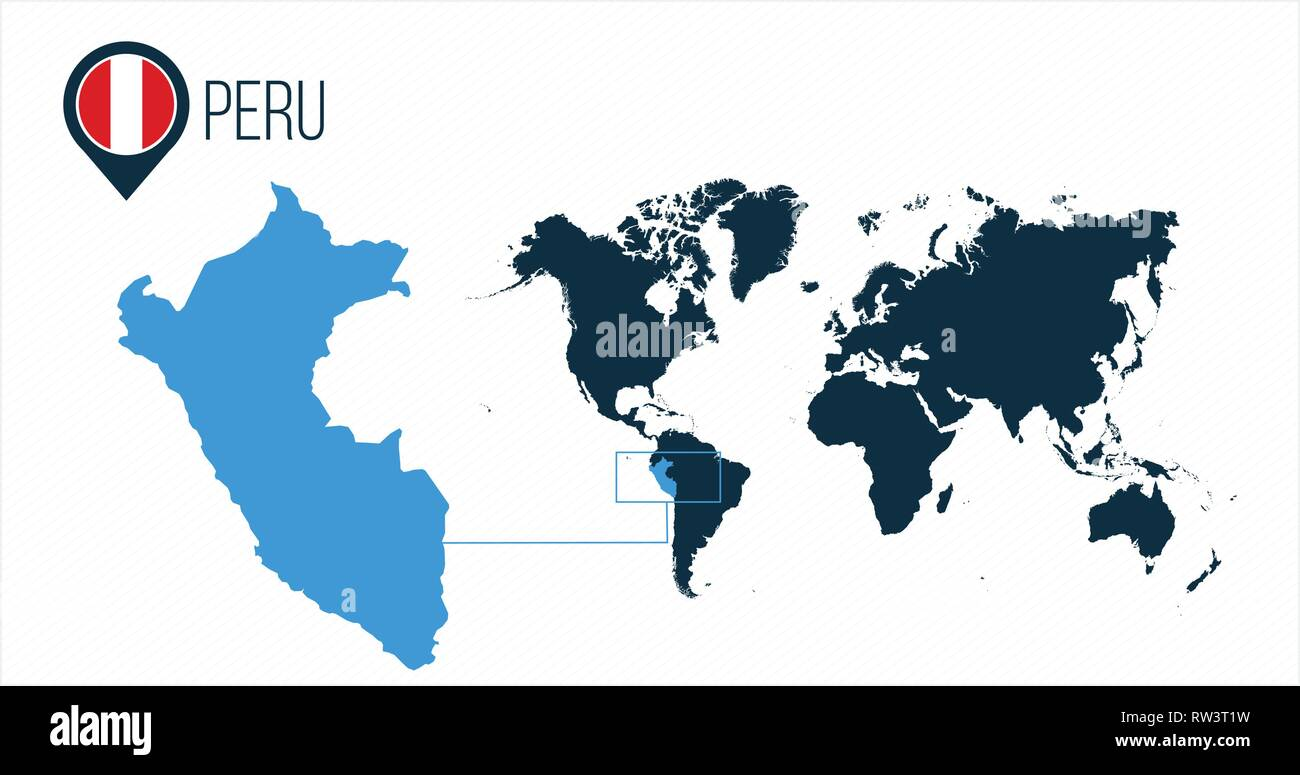 Peru Map Stock Photos & Peru Map Stock Images - Alamy