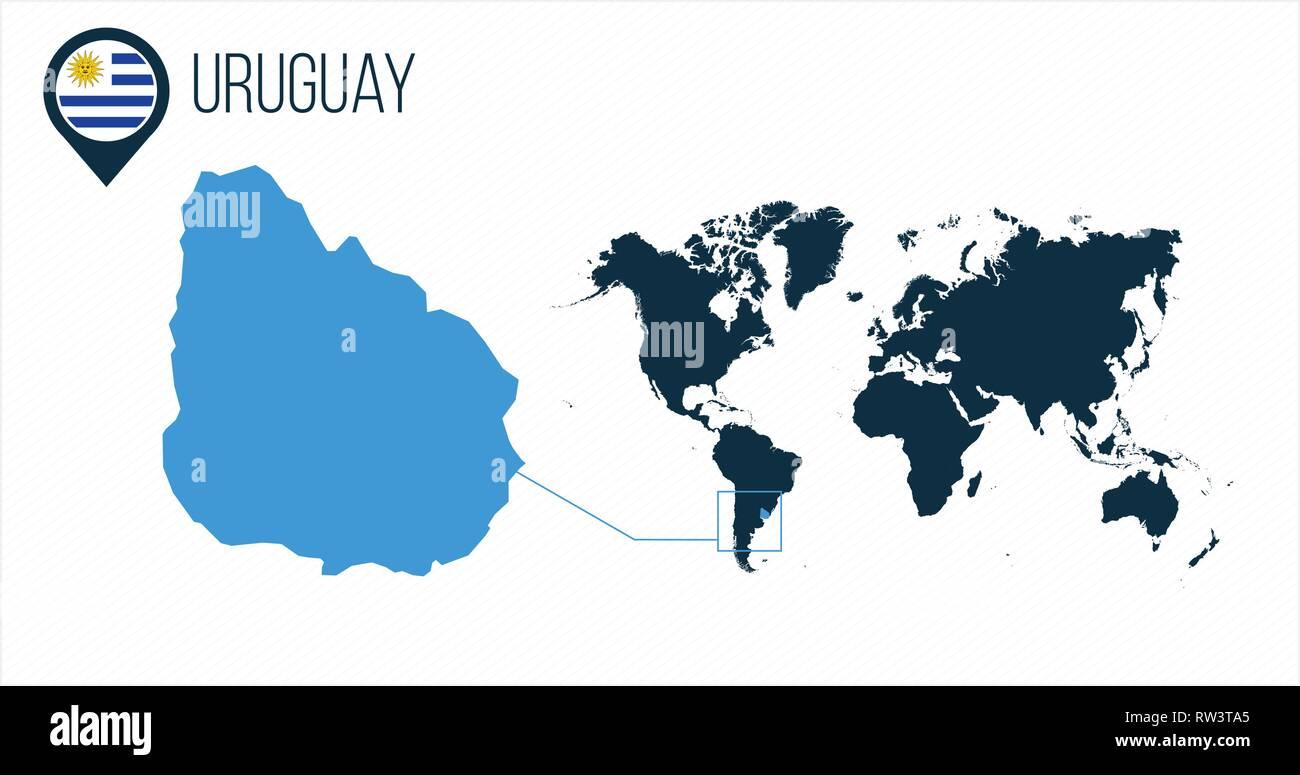 Uruguay Map Stock Photos Uruguay Map Stock Images Alamy