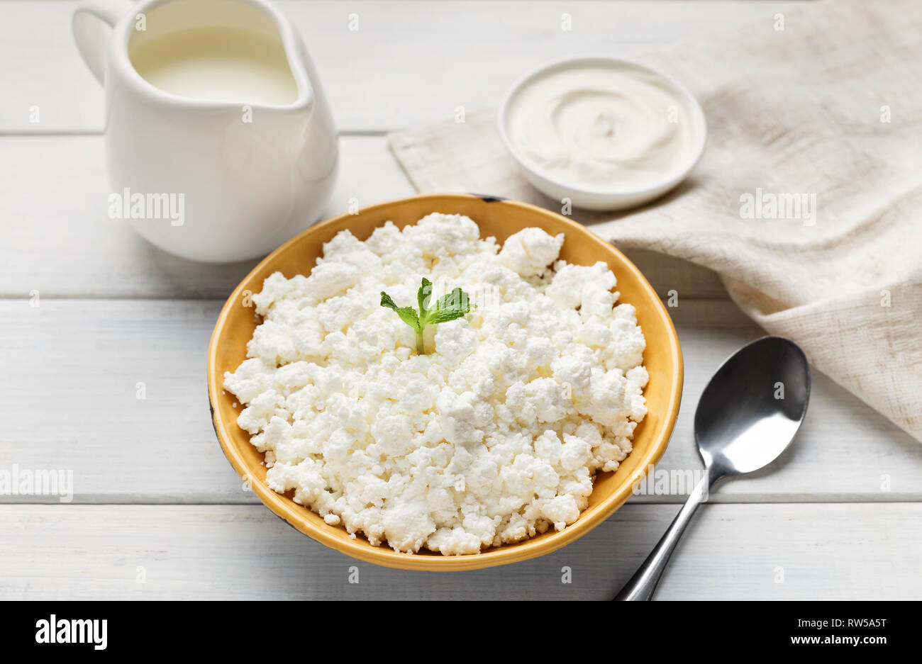 Protein nutrition concept - Stock Image