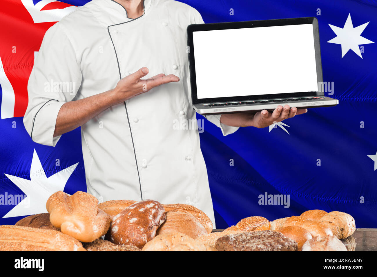 Baker Bread Australia High Resolution Stock Photography And Images Alamy