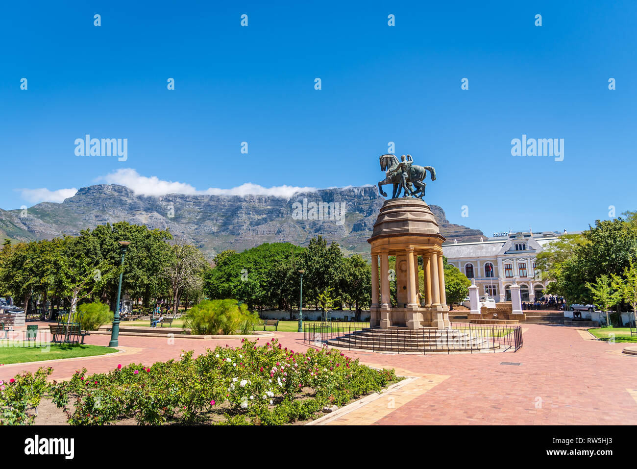 The Company's Garden, Cape Town, South Africa - Stock Image
