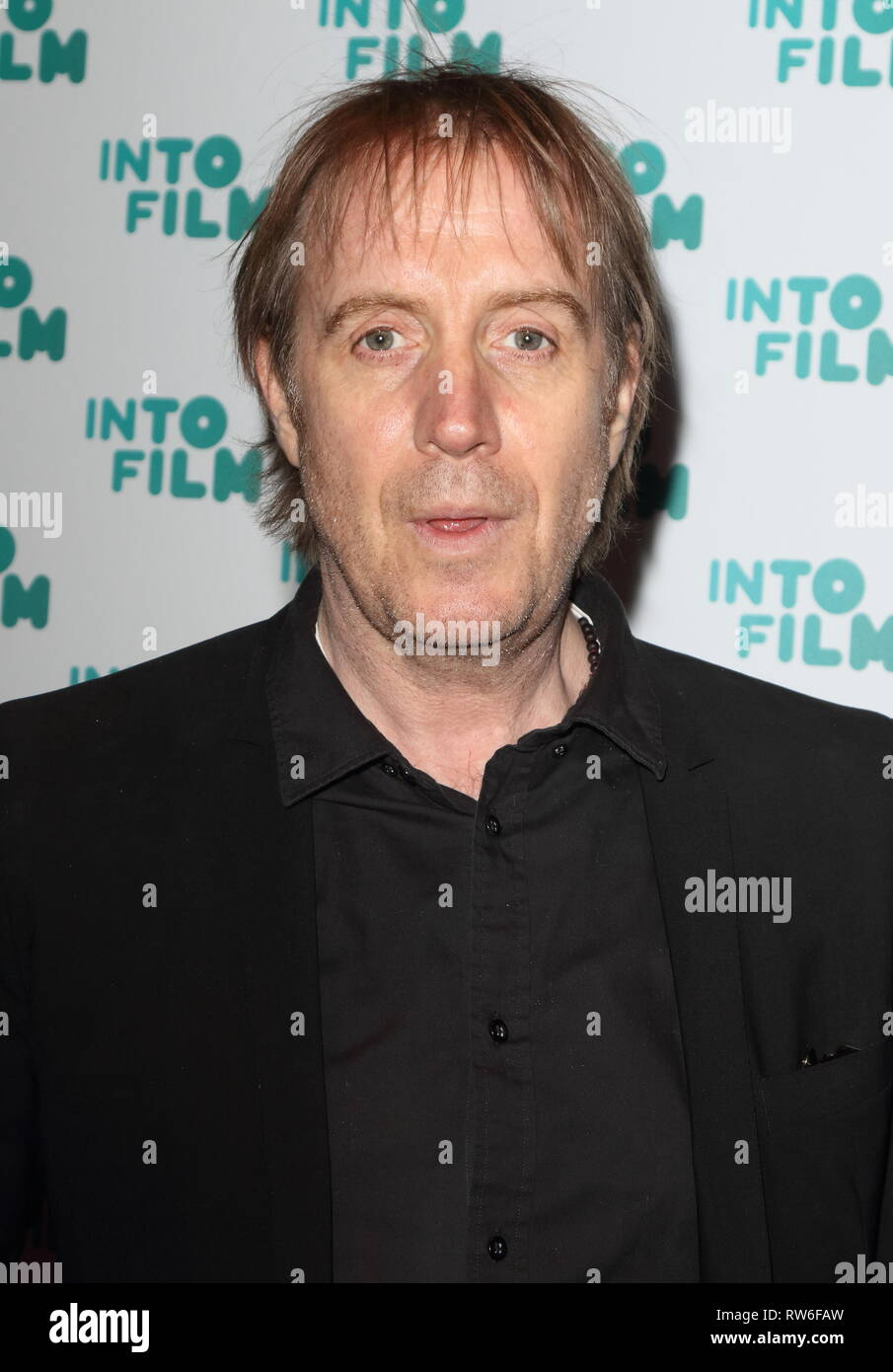 Rhys Ifans seen during the Into Film Awards 2019 at the Odeon Luxe cinema, Leicester Square in London. - Stock Image